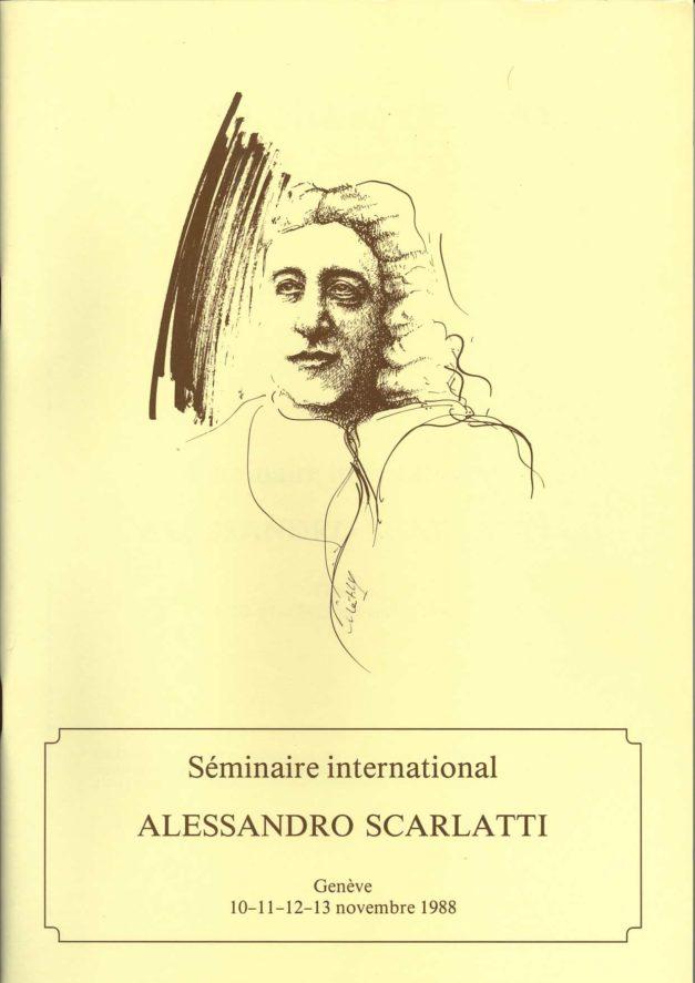Séminaire Alessandro Scarlatti