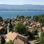 Le village d'Hermance