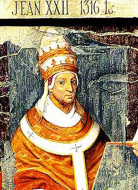 Bulle du Pape Jean XXII (1322)