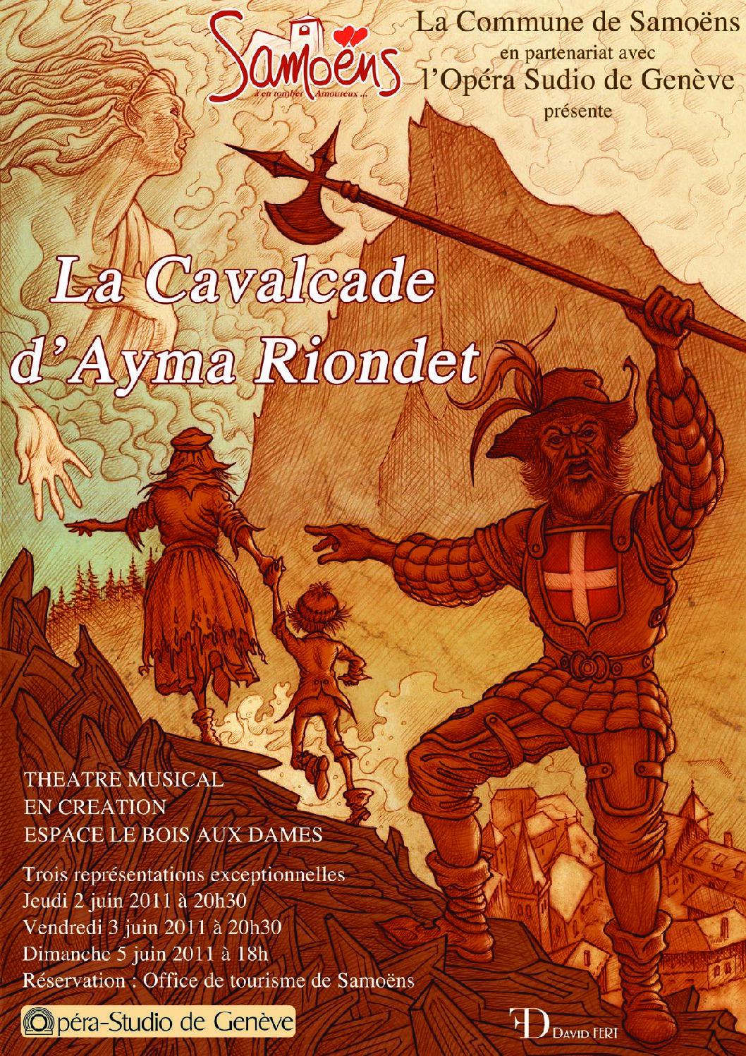 La Cavalcade d'Ayma Riondet