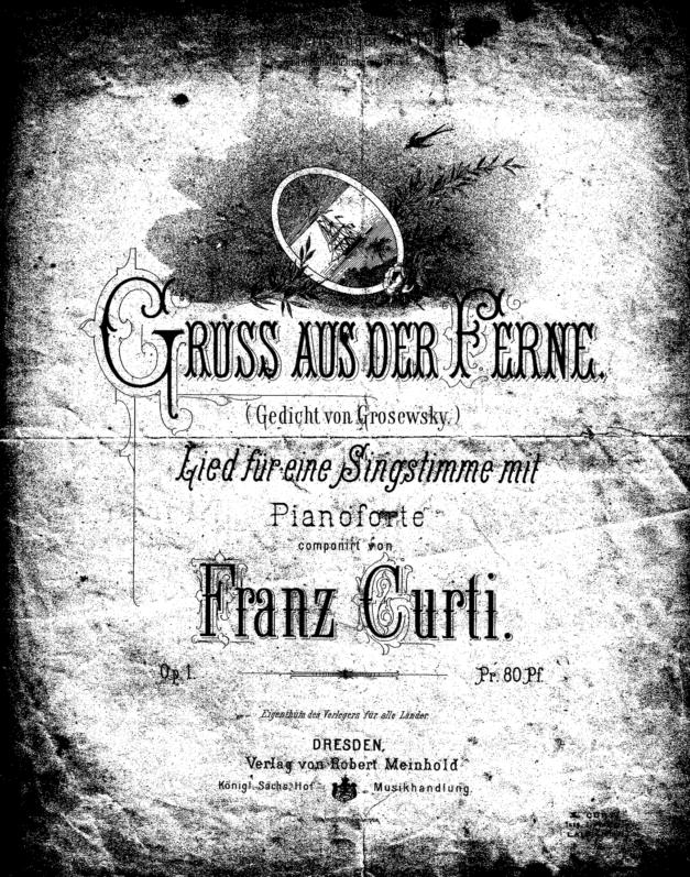 Lieder, Franz Curti