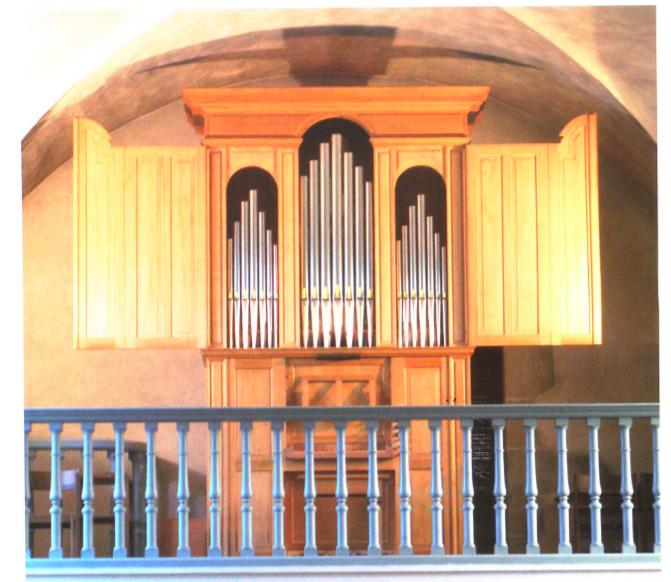 Pourquoi un orgue italien à Hermance ?